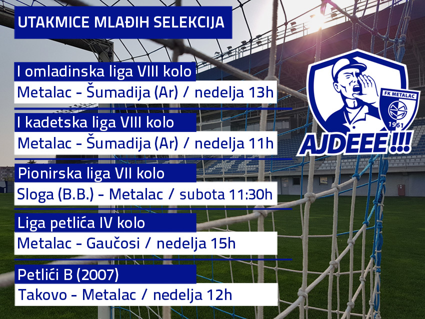 FK Metalac raspored utakmica