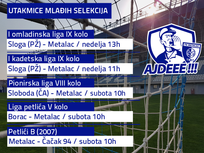 raspored fk metalac