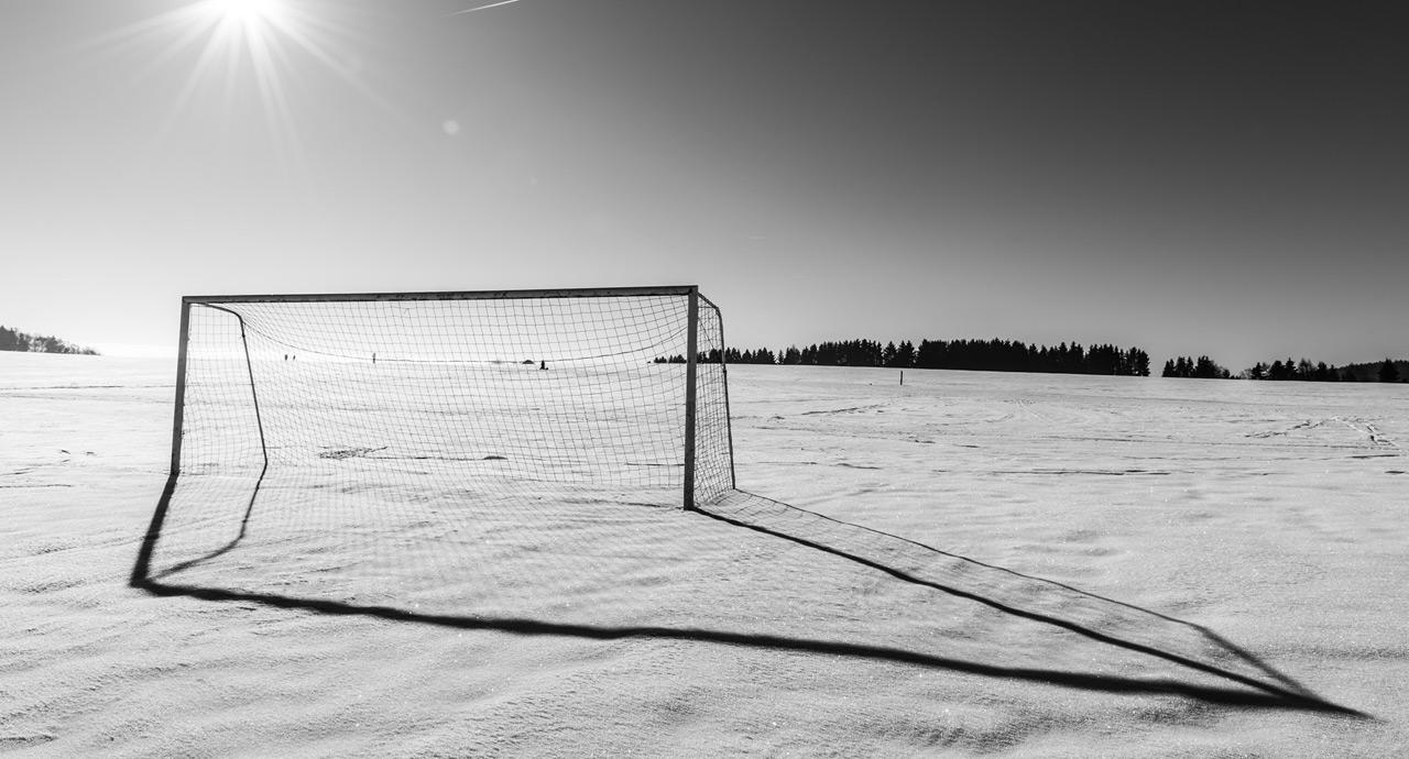 sneg na terenu
