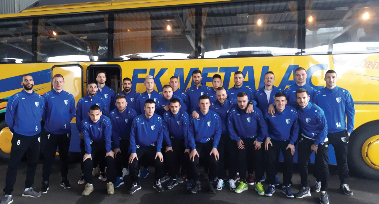 Prvi tim na Ohridu