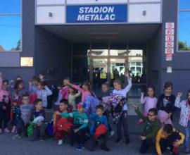 Dečija nedelja na stadionu Metalac